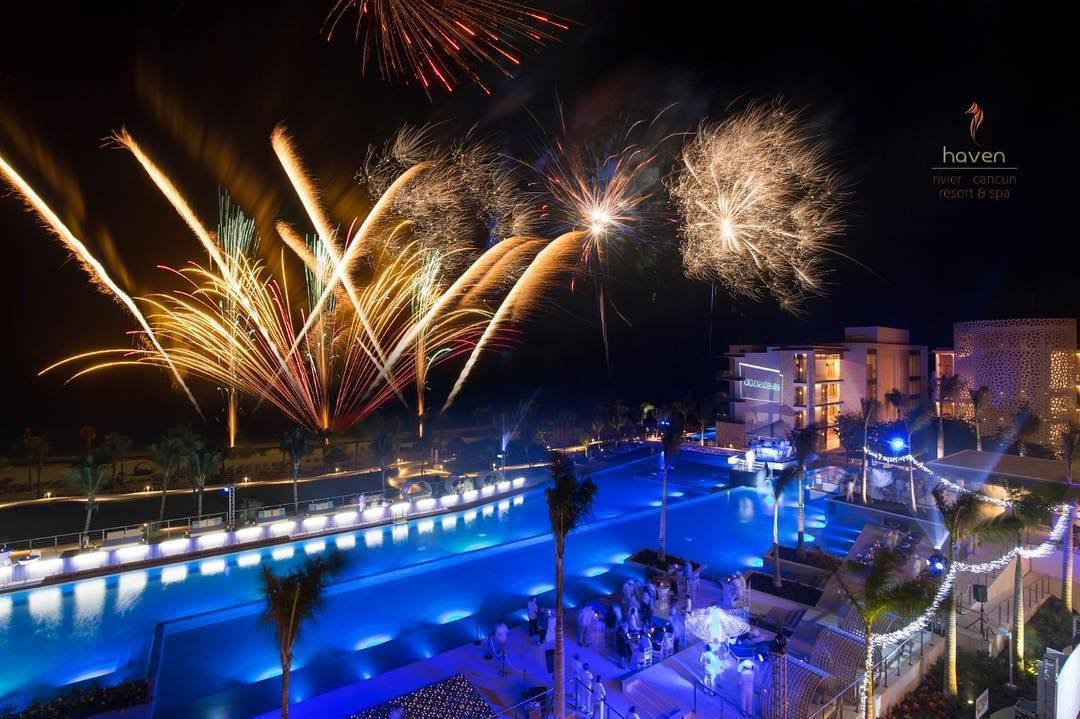 Happy New Year From Haven Riviera Cancun Riviera Cancun All Inclusive Resorts Inclusive Resorts
