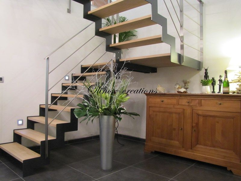 Envie d 39 un escalier unique et surtout votre image vous for Type d escalier interieur