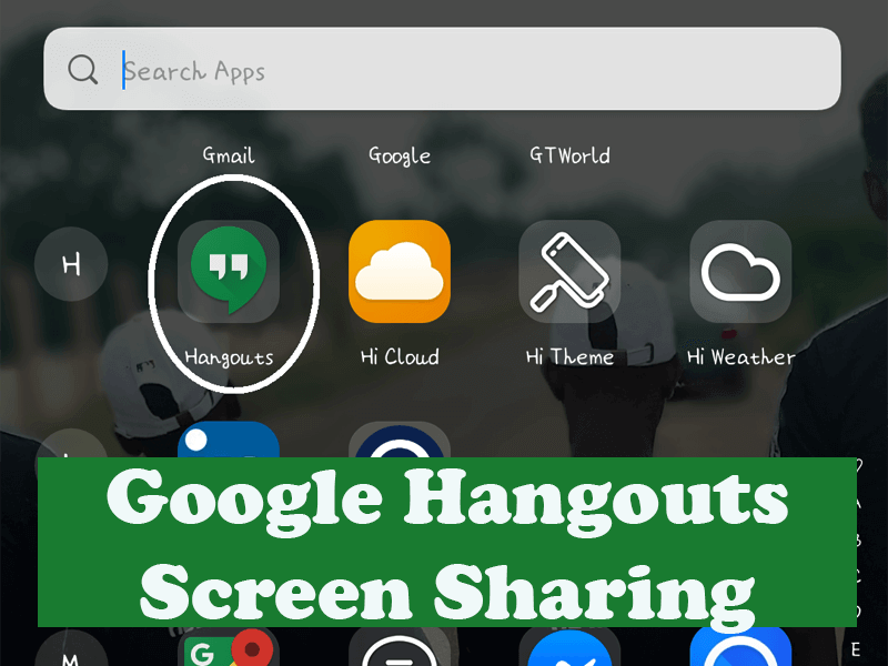 Wow How To Use Google Hangouts Screen Sharing 2020