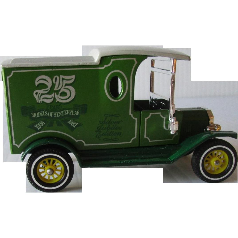 Models Of Yesteryear 1912 Ford Model T Delivery Van Y 12 45 Die