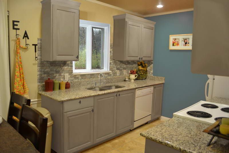 Paintedkitchencabinetideasphotos674  Painted Kitchen Cabinet Awesome Kitchen Cabinet Designs And Colors Decorating Design