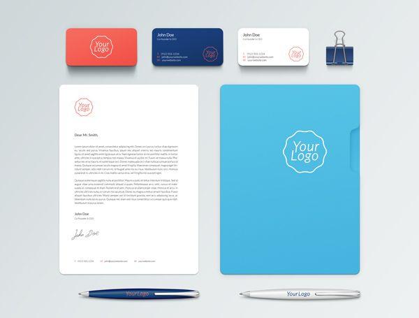 Plantillas completas para identidad corporativa gratis | Pinterest ...