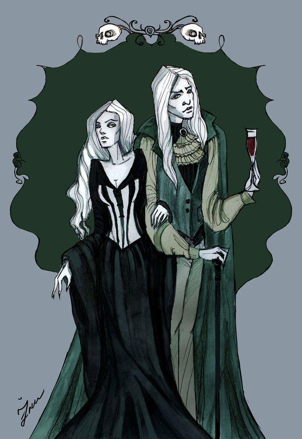 The Malfoys by IrenHorrors.deviantart.com on @deviantART