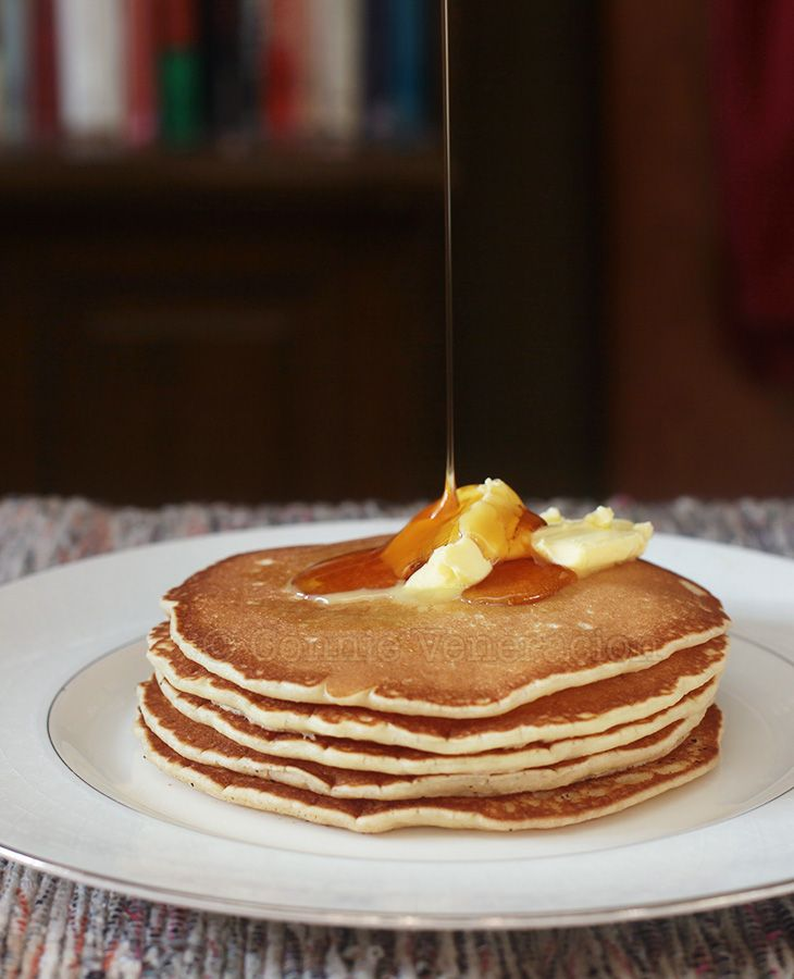 The Best Pancakes Ever From Scratch Recipe Pancakes Butter