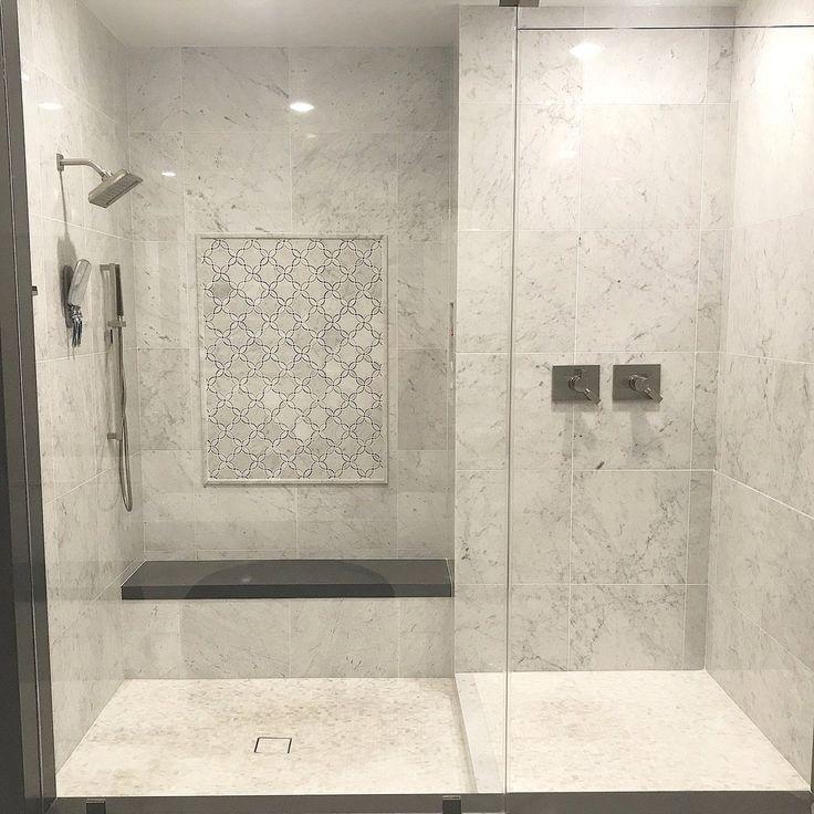 Bardiglio Grey Carrara White Bathroom Marble Water Jet