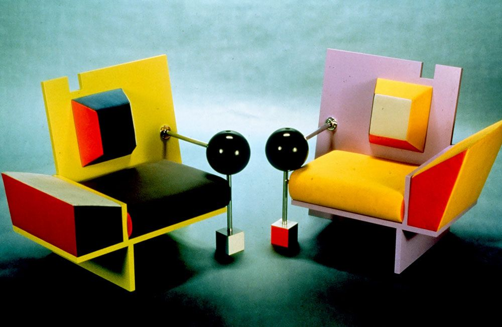 Irresistable Hibachi By Peter Shire Unusual Furniture Peter