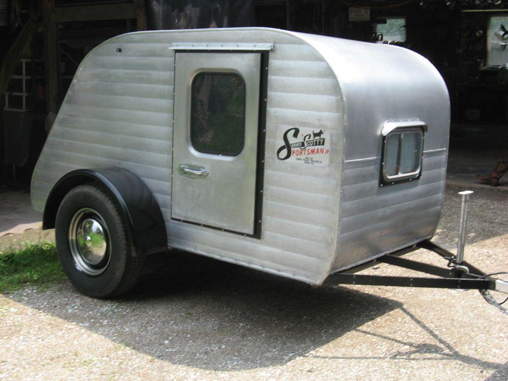 Vintage 1958 Serro Scotty Sportsman Jr Teardrop Camper