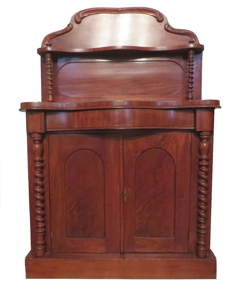 Details about Antique 1800s English Mahogany Regency ...