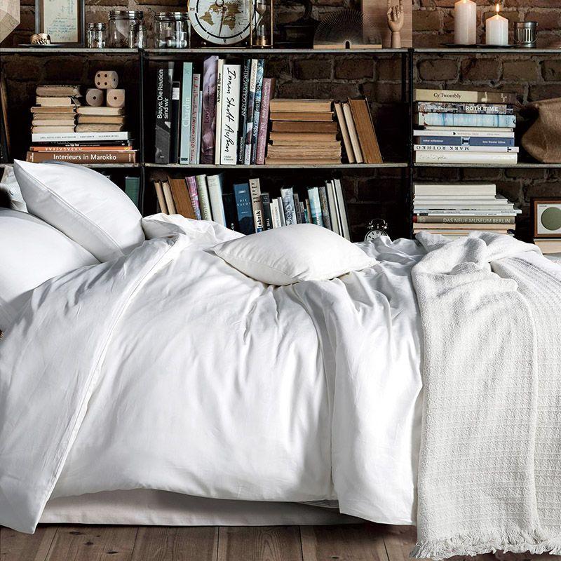 white and grey bedding - Google Search Zzz final Pinterest