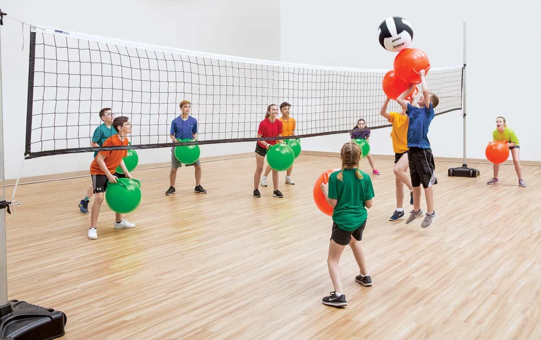 Action Volleybound Gopher Sport In 2020 Indoor Pe Indoor Pe Games Pe Games