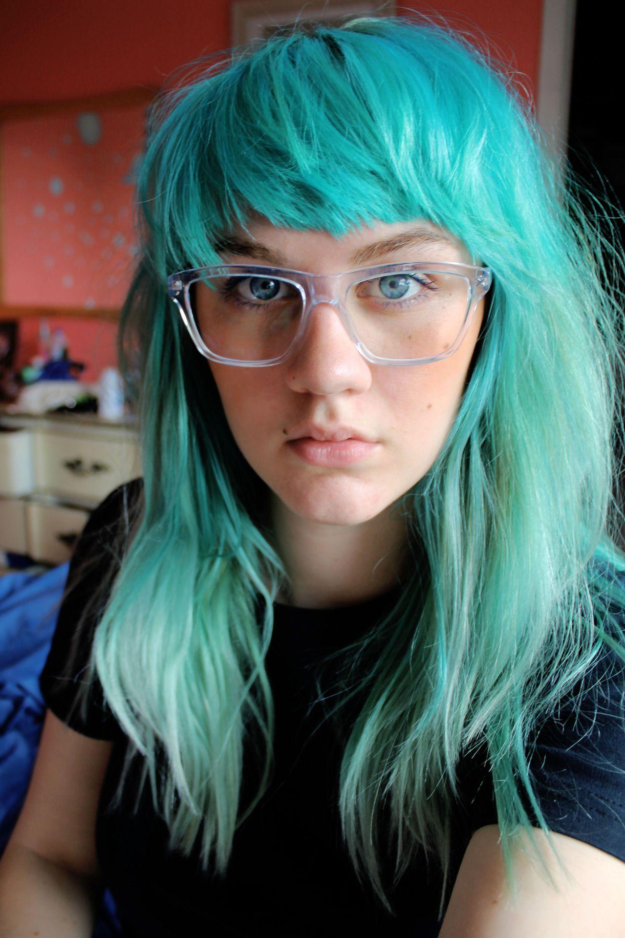 Tumblr hair pinterest blue hair colourful hair and colored