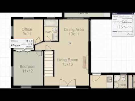 How to Make a Floorplan in Excel  Microsoft Excel Tips - YouTube