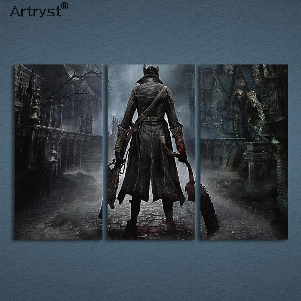 Artryst Modular Canvas Wall Art Abstract Pictures Home Decor 3