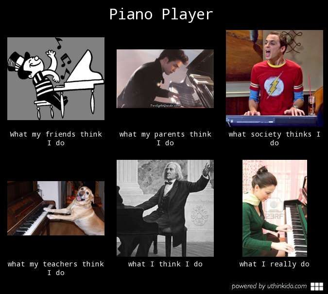 31 Thoughts A Pianist Has During A Performance Music Jokes Music Humor Music Nerd