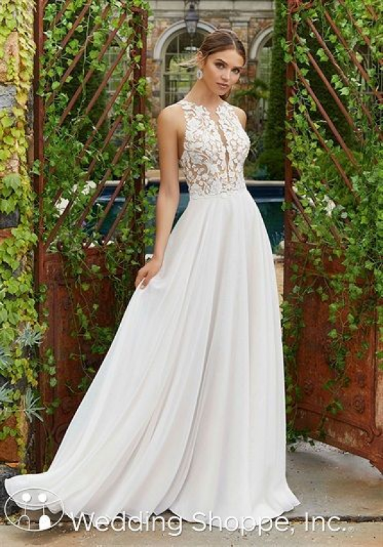 Blu by Mori Lee Bridal Gown Polina / 5703 - #Blu #bridal #Gown #Lee #Mori #Polina #dressesbylength #dresses #by #length