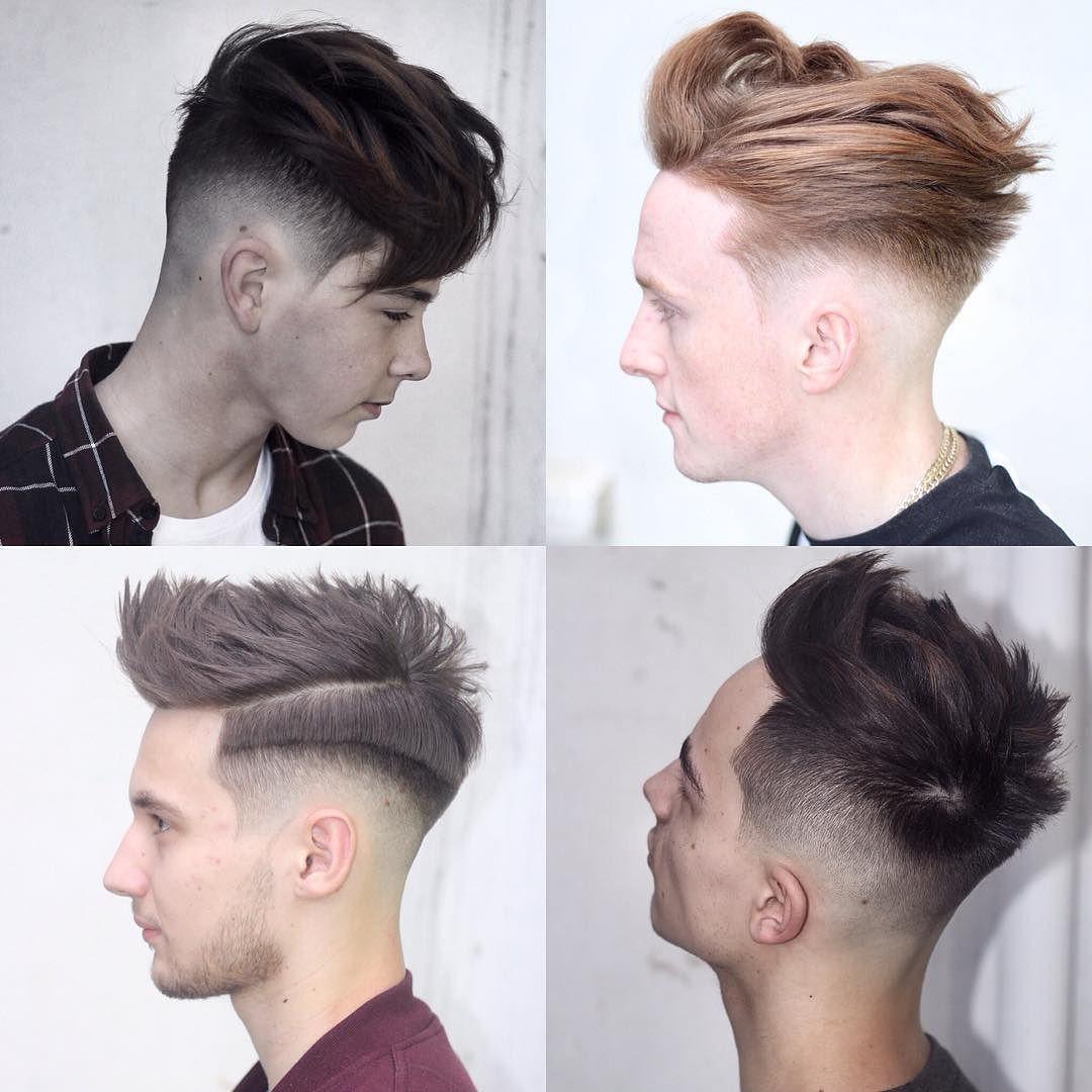 Cortes de cabello mid fade