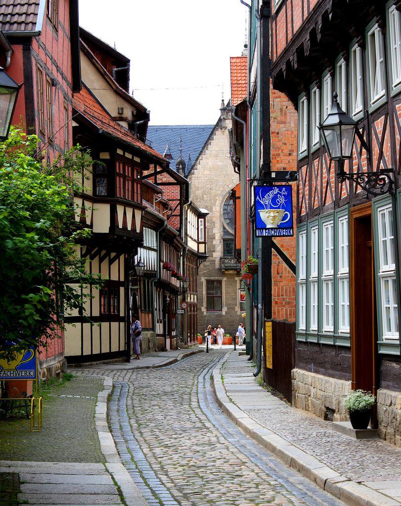Quedlinburg (SachsenAnhalt) Germany Sachsen anhalt