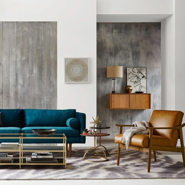 Épinglé par Ines Khémiri sur Canapé bleu en 2020 | Déco maison, Mobilier de salon, Decoration salon