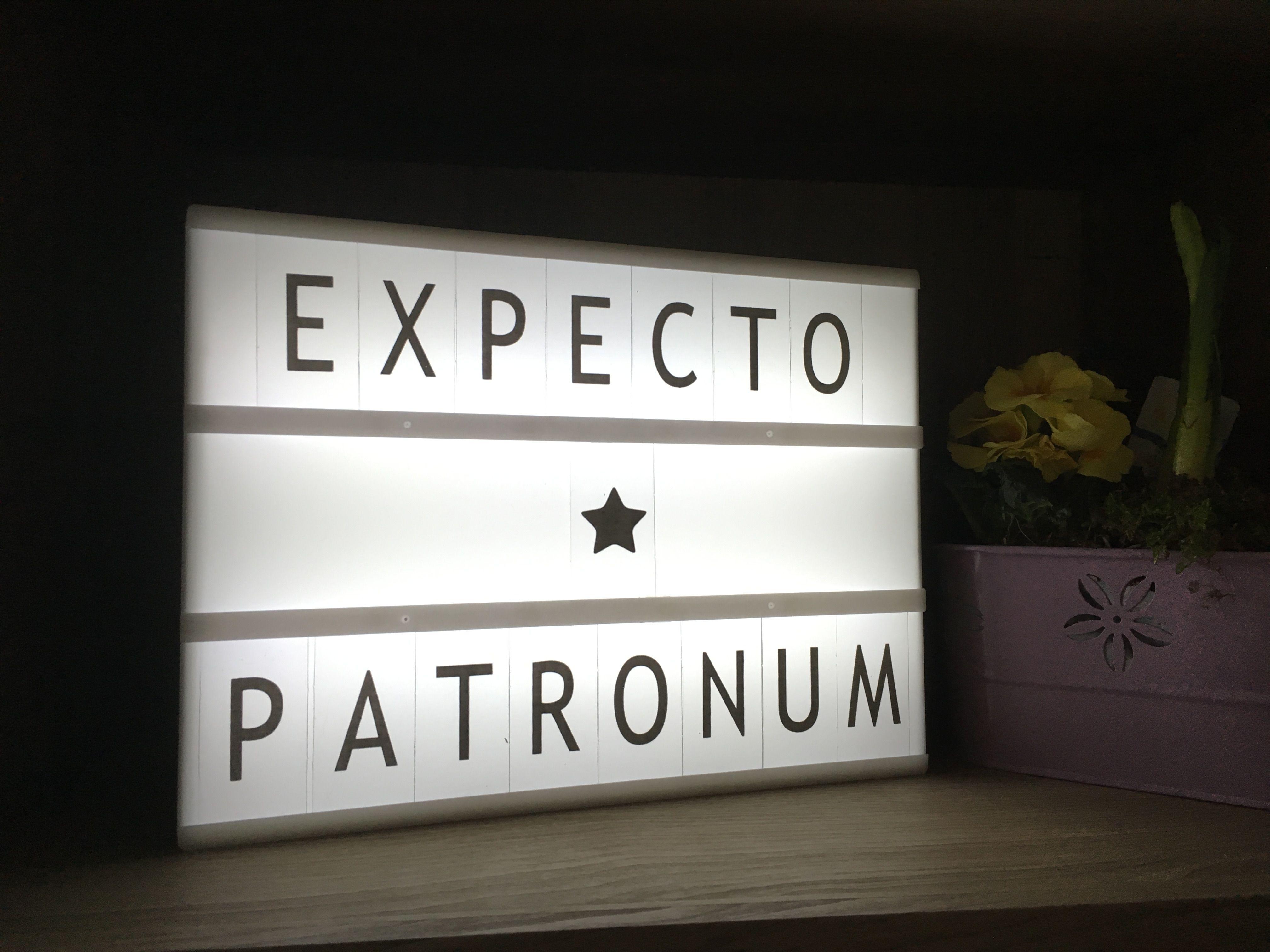 Lightbox Harry Potter   Light box, Cinema light box quotes, Light ...