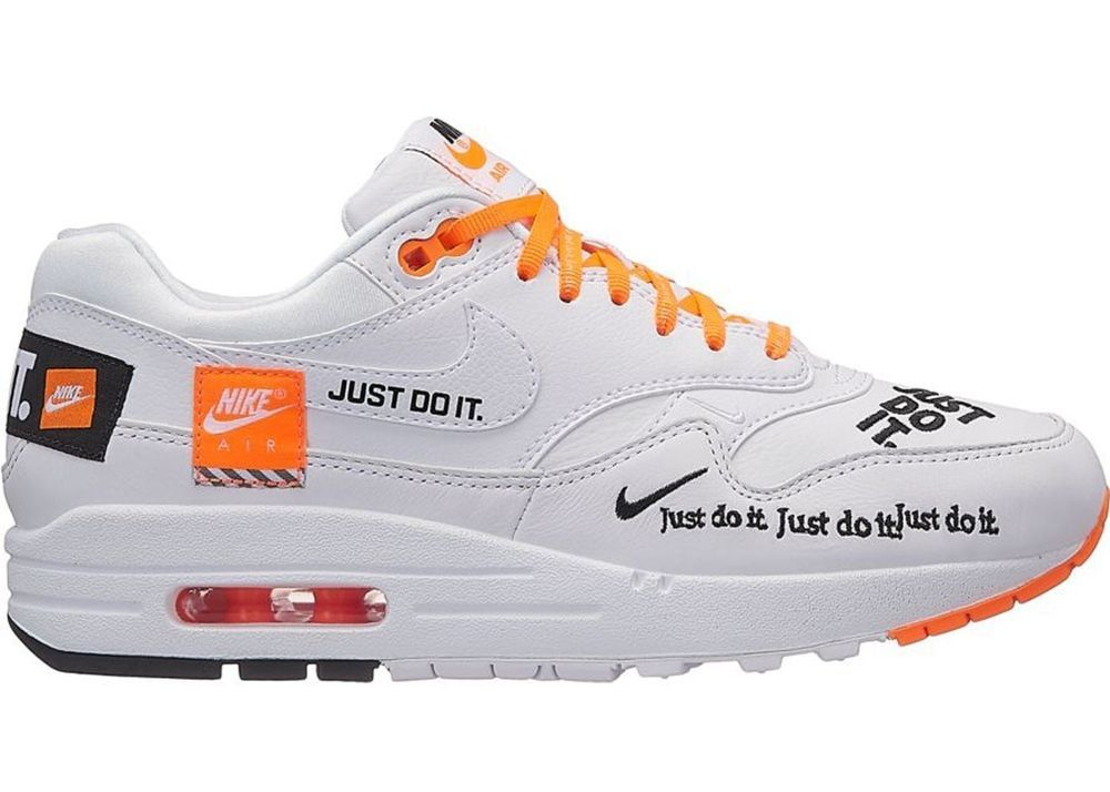d708e023af0e9 Nike Air Max 1 SE Just Do It - WHITE - IN BOX - Mens Size  13  fashion   clothing  shoes  accessories  mensshoes  athleticshoes (ebay link)