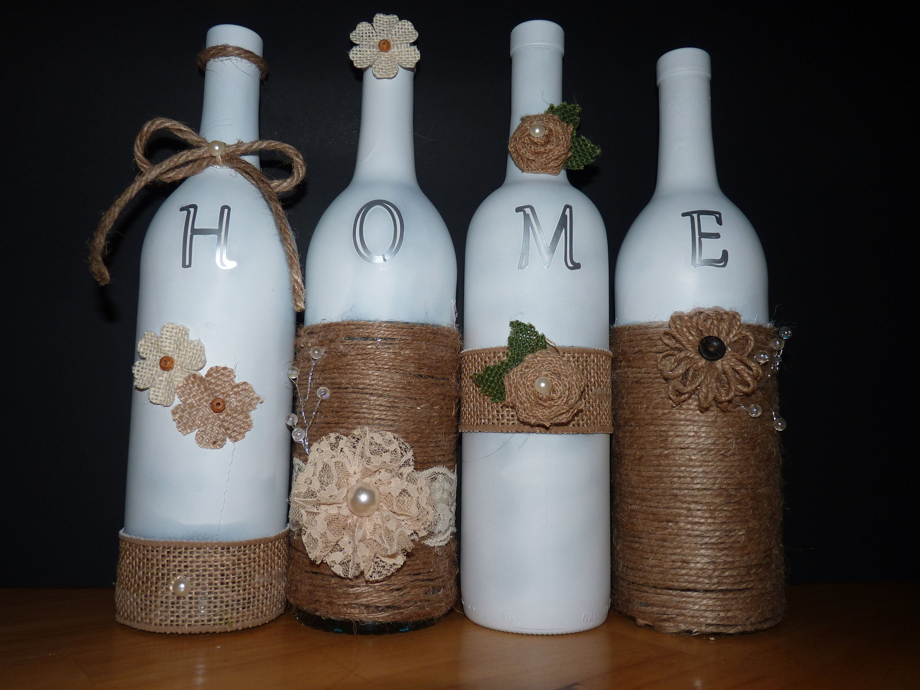 Pin On Wine Bottle Crafts