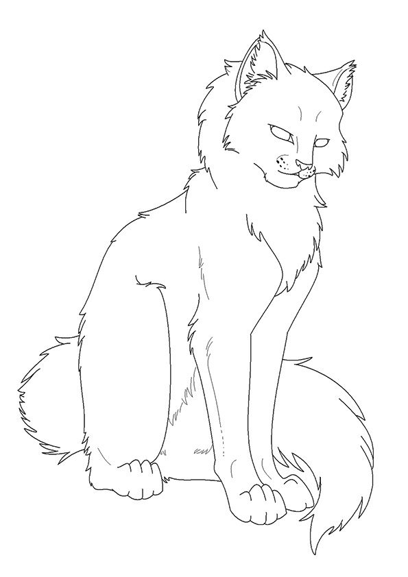 25 Best Warrior Cats Coloring Pages For Your Naughty Kid Warrior Cat Drawings Cat Coloring Page Cat Coloring Book