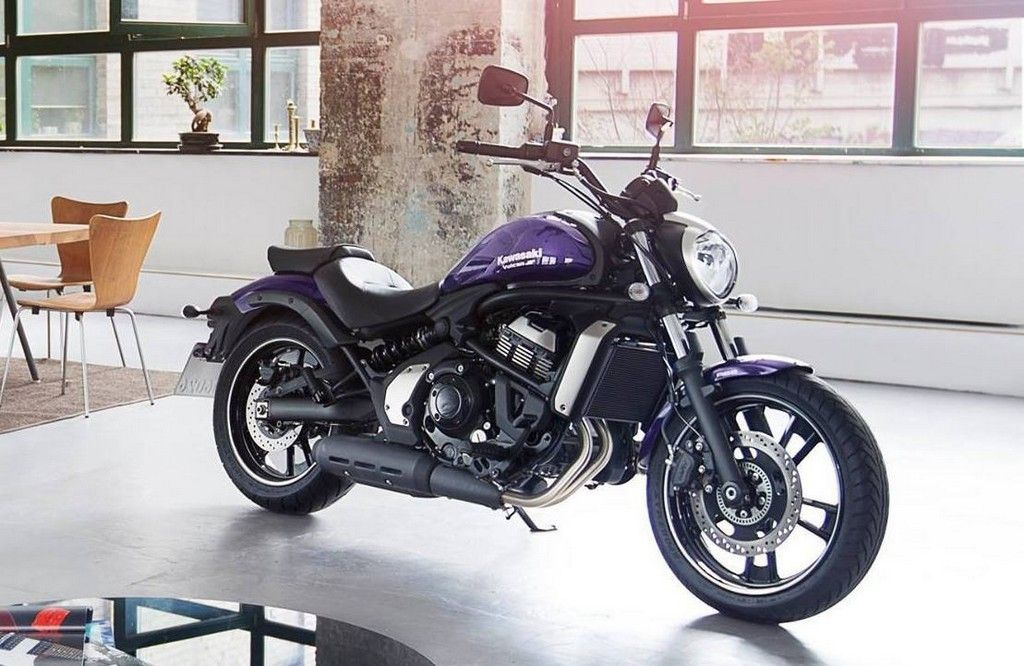 Oh And A Purple 2015 Vulcan S Kawasaki Muscle Cruiser
