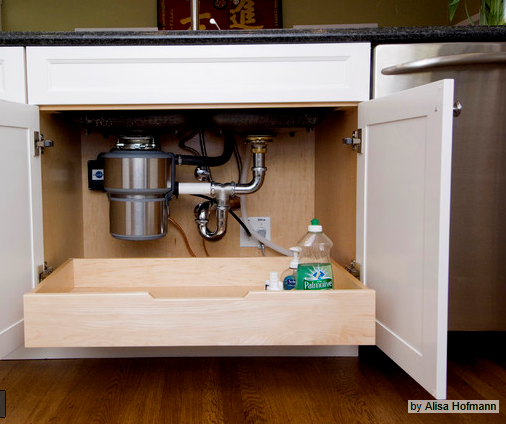 Roll Out Drawer Under Kitchen Sink Roll Out Drawer In Base Cabinets
