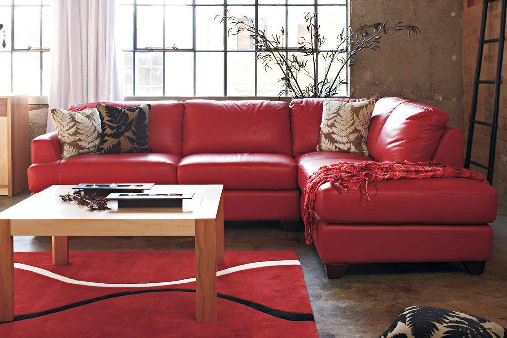 Pezzo 2 Piece Leather Corner Lounge Suite With Chaise Home Home