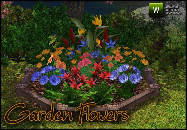sim_man123's Garden Flowers