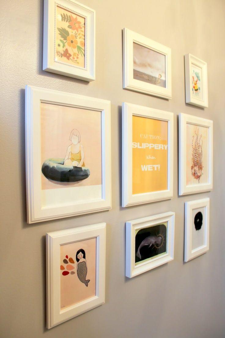 wall art for bathrooms | Wall art in bathroom | Bathroom update ...