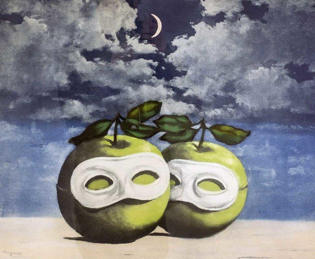 eb558c45667 La Valse Hesitation 1968 by Rene Magritte Surrealism Painting, Pop  Surrealism, Brow Artist,