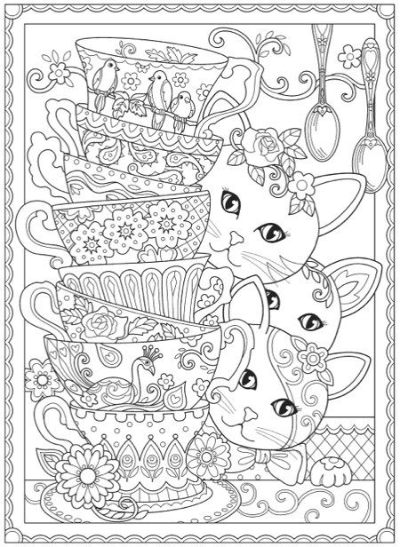 Hottest New Coloring Books: March 2017 Roundup | Coloring books ...