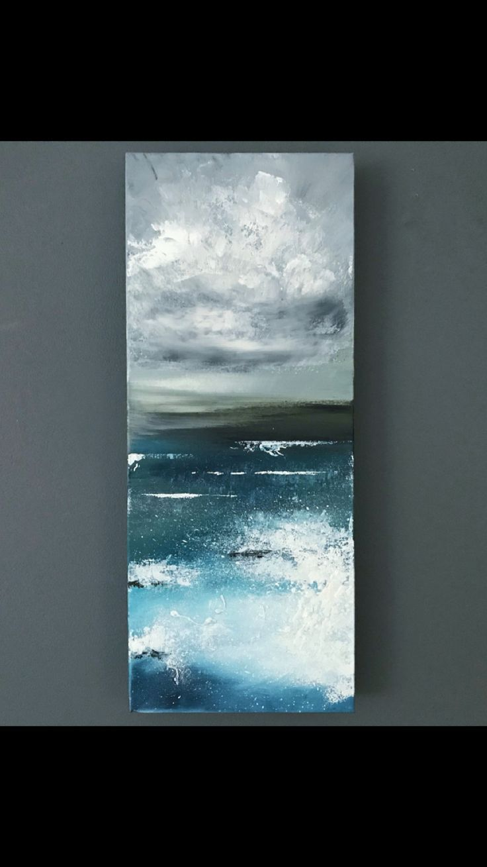 Ocean beach sea water abstract