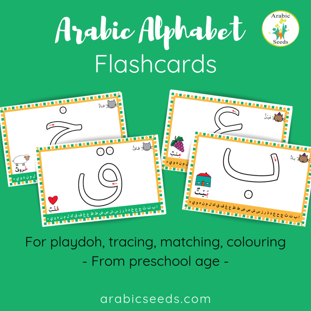 Arabic Alphabet Flashcards
