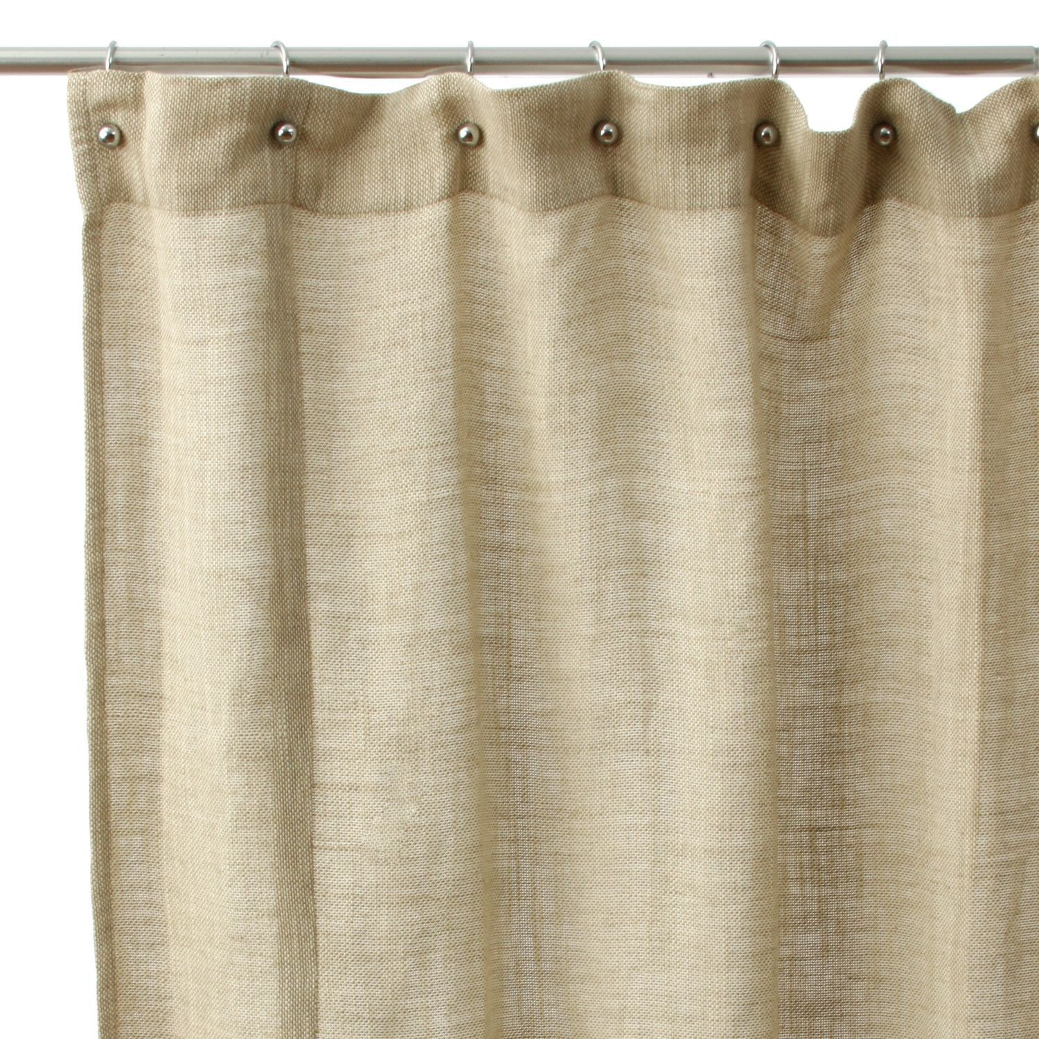 Cottage Shower Curtain Cottage Home Jack Rustic Cotton Shower Curtain Natural Tan