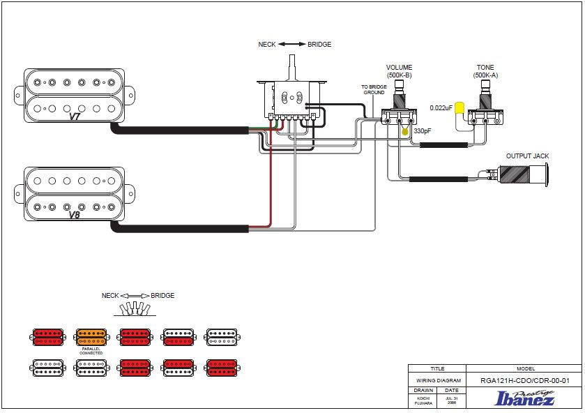ibanez wiring diagram dt200 v7 v8 pickup conversion modified diagram rh coffeevc co Ibanez Gio Wiring-Diagram Ibanez Soundgear Bass Wiring Diagram