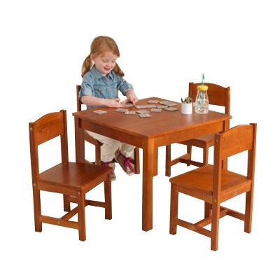 Found It At Wayfair Farmhouse Kids Piece Table Chair Set - Wayfair kids table and chairs