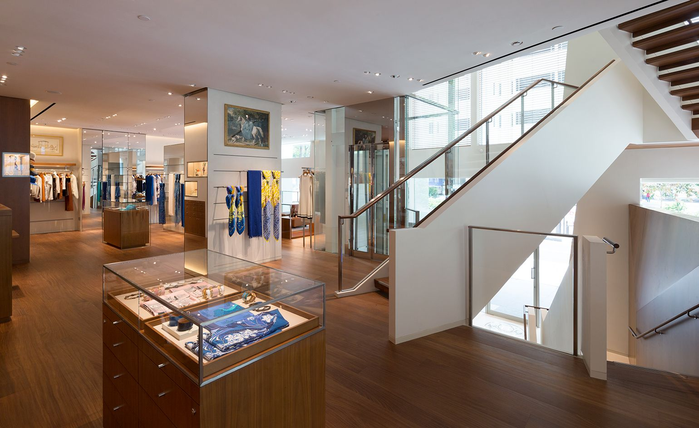 Hermès world a refurbished Singapore flagship stocks