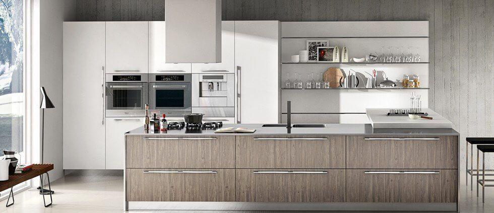 Schröder Küchen Küche neu gestalten Tranche cut old america - küche ohne griffe