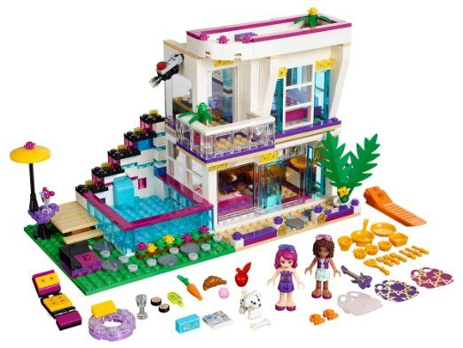Lego Friends 41135 Livis Pop Star House Mixed Amazoncouk Toys