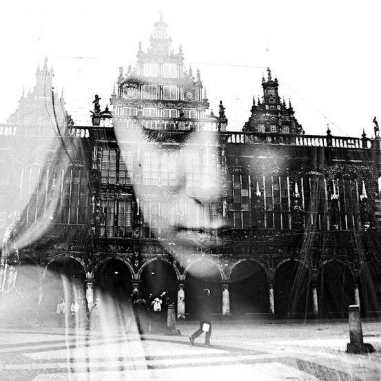 Double Exposure Portraiture by Aneta Ivanova