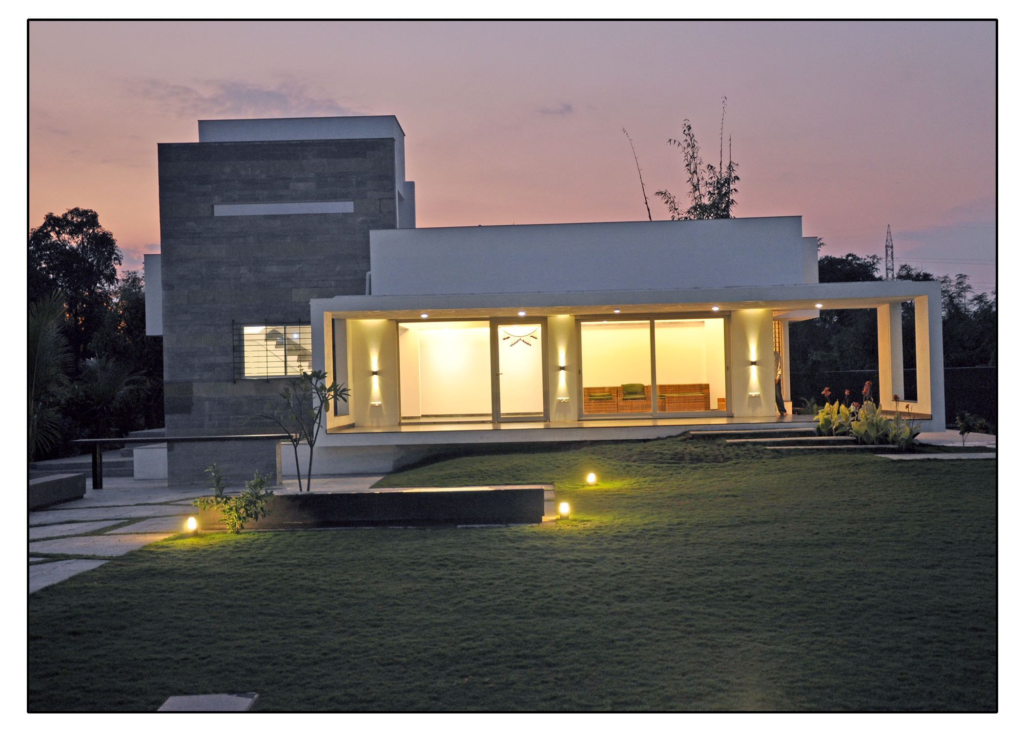 Architecture and interior design projects in india for Terrace 6 indore images