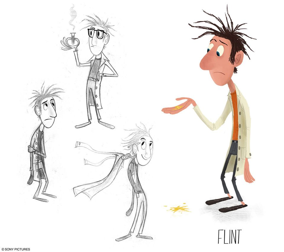 yes cloudy with a chance of meatballs character art