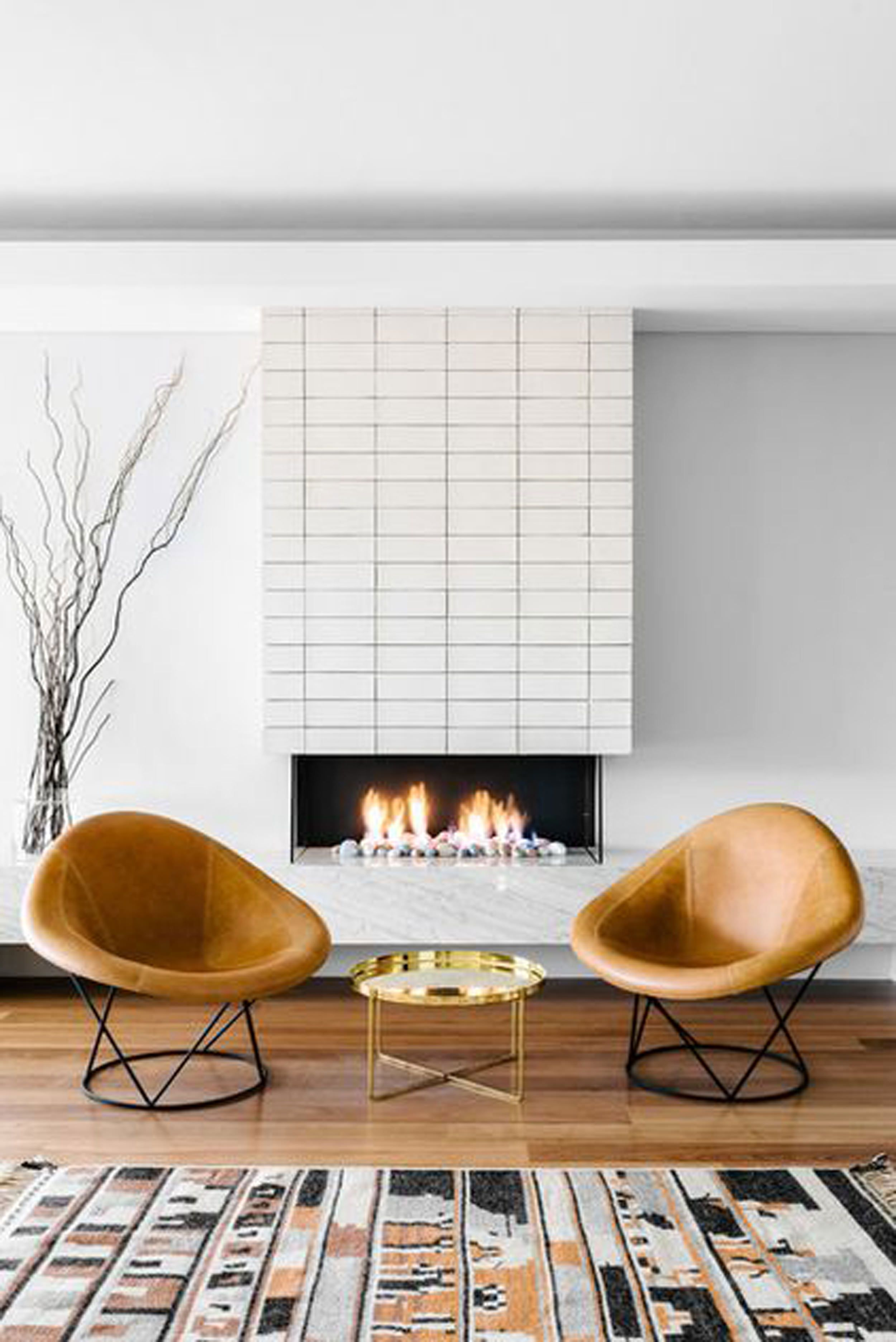 I Design You Decide Mountain Fixer Upper The Fireplace Emily Henderson Mid Century Modern Living Mid Century Modern House Mid Century Modern Interiors