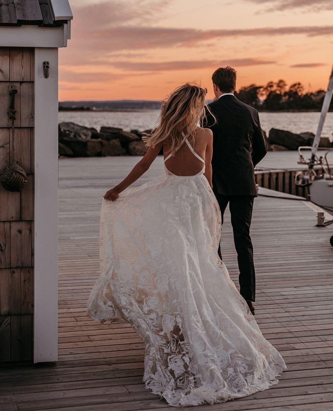 Megan Gown   Lace Wedding Dress   Grace Loves Lace   Wedding ...