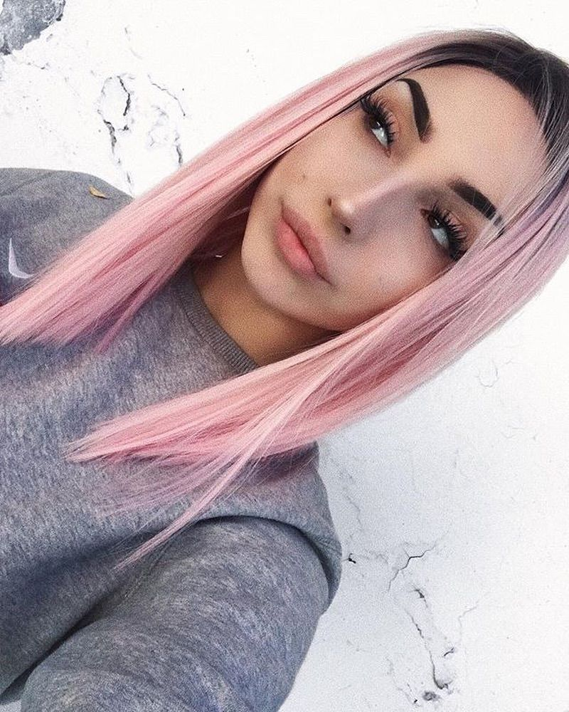 Wigs For Women Best Lace Front Wigs Lace Front Wigs Light Pink Hair
