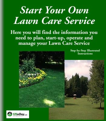 Start your own lawn care service service business for Lawn maintenance service
