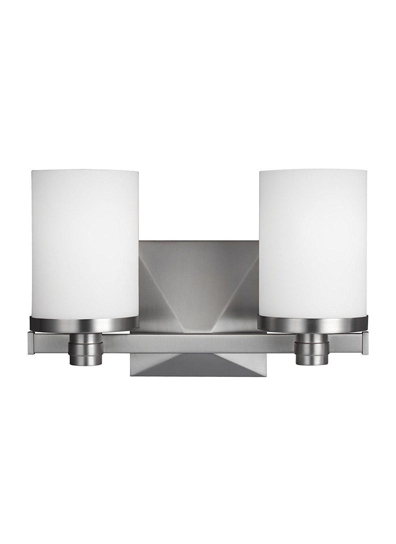 8dfc860b88362 Murray Feiss VS22902SN Randolf 2 Light Bathroom Vanity Light ...