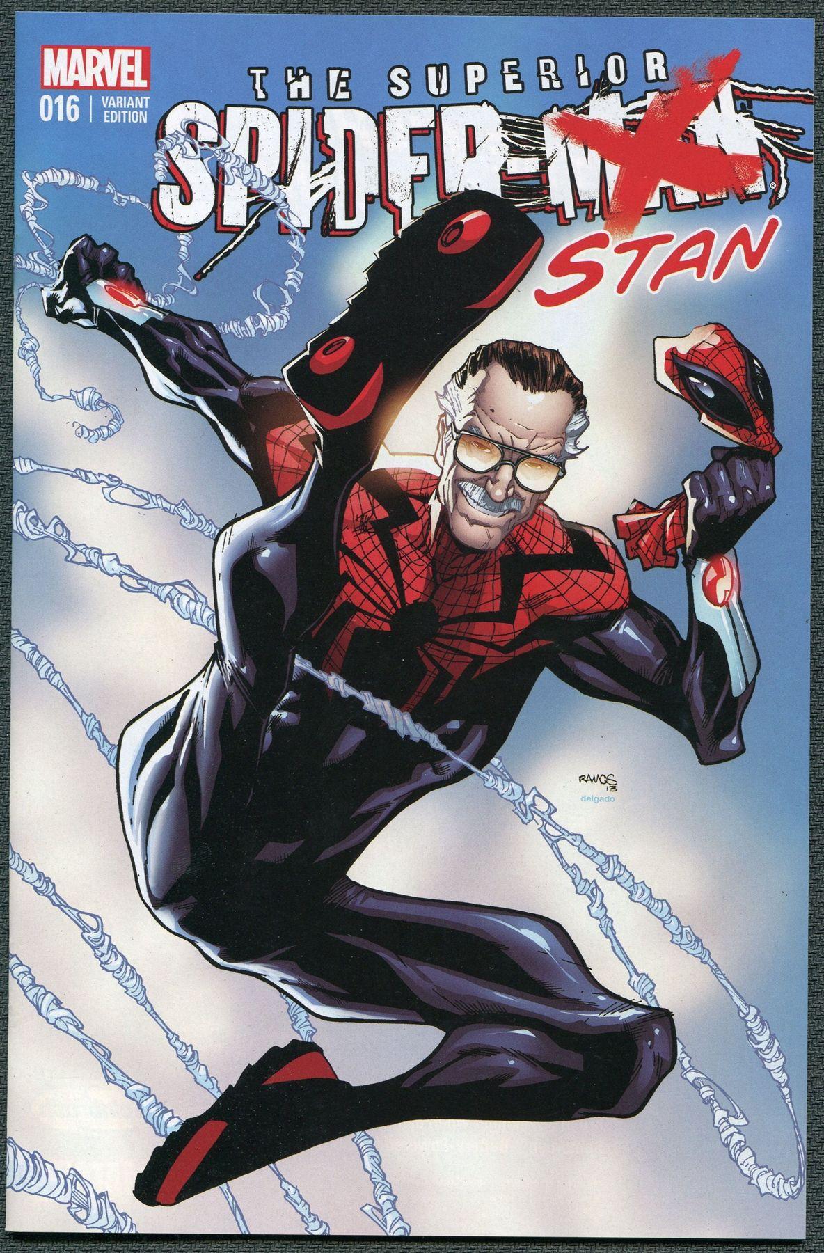 The Superior Spider Stan Humberto Ramos Spiderman